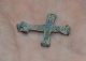 A very nice Medieval Lead Pilgrims Cross / Crucifix found in Norfolk.
